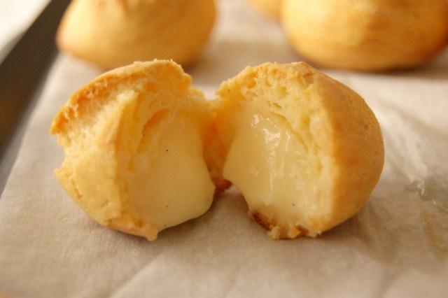 Cách làm bánh Su kem mềm Nhật Bản (Fuji Choux)