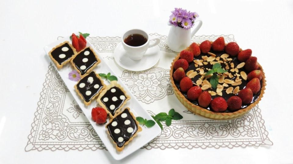 Thử món bánh Tart Chocolate độc đáo