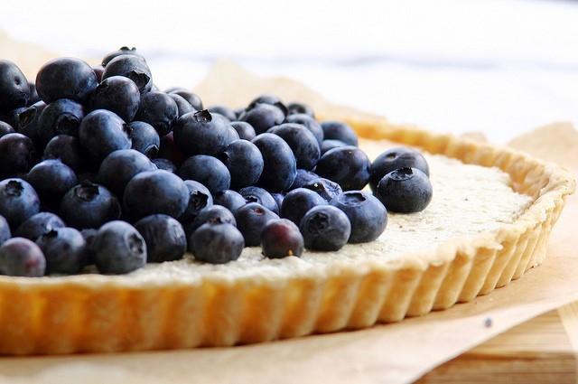 Cách làm bánh bluberry tart
