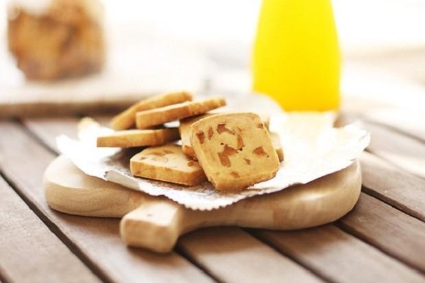 Cách làm bánh quy táo giòn thơm cực dễ