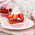 Cách làm bánh Cupcake dâu quyến rũ