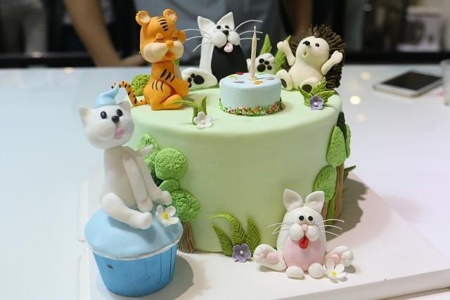 10 mẫu bánh kem sinh nhật dễ thương cho bé yêu