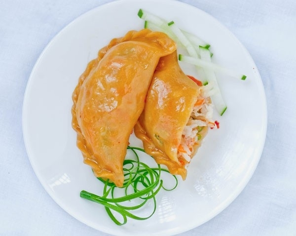 Hướng dẫn cách làm bánh gối chay hấp dẫn cho người giảm cân