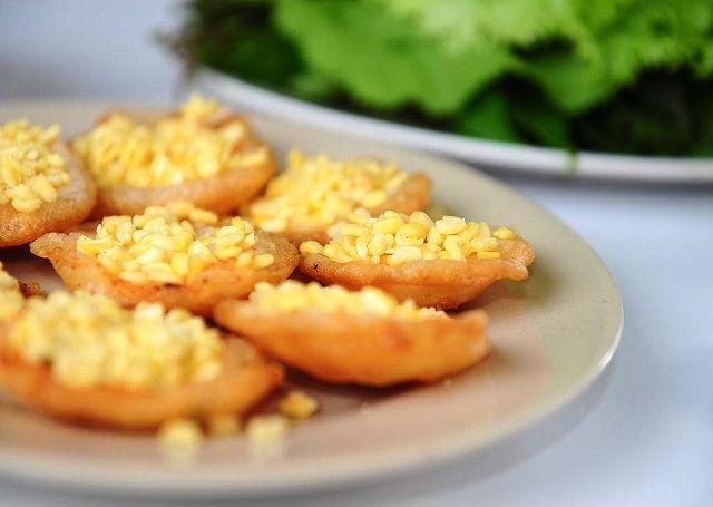 3 bước đơn giản để làm bánh khọt chay thanh đạm
