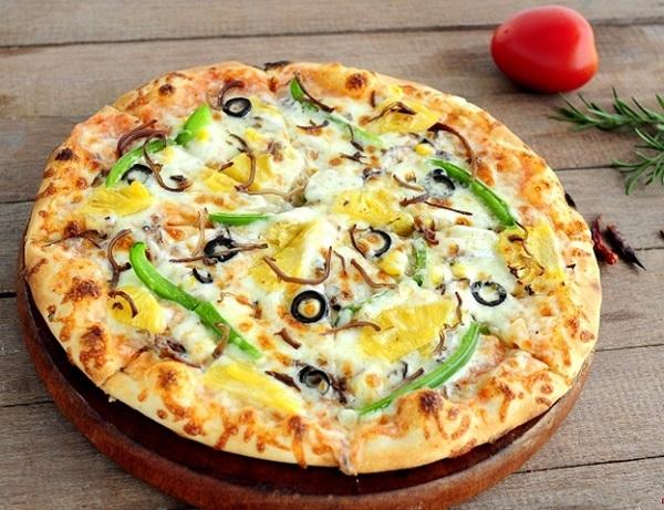 Cách làm bánh pizza chay ngon đơn giản