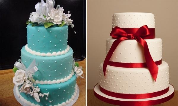 5 ý tưởng trang trí bánh cưới tuyệt đẹp