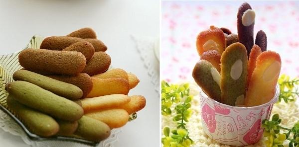 Cách làm bánh lưỡi mèo nhiều vị mới lạ