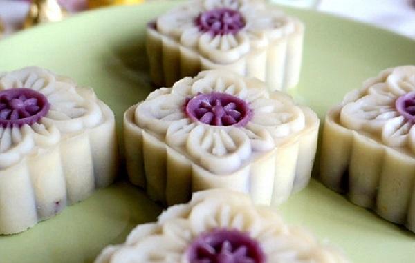 Cách làm bánh dẻo trung thu nhân khoai lang tím dẻo thơm