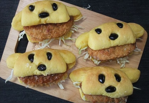 Cách làm bánh hot dog hình thú vừa nhìn đã mê ngay