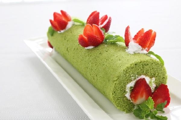 Hướng dẫn làm bánh bông lan trà xanh đơn giản nhất