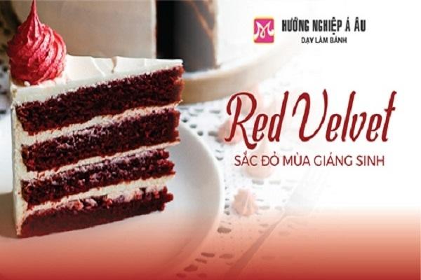 Red velvet – sắc đỏ mùa giáng sinh: khám phá bí quyết làm bánh red velvet