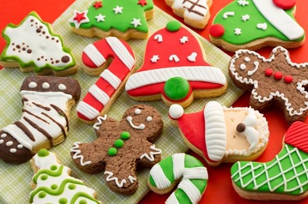 Cách làm bánh cookies noel thơm ngon bắt mắt với đường icing