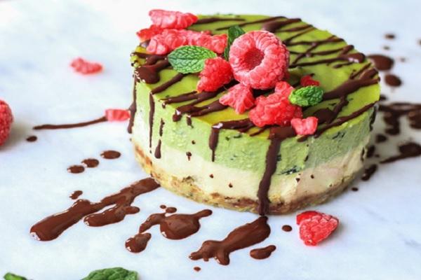 Cách làm cheesecake trà xanh ngon đúng chuẩn