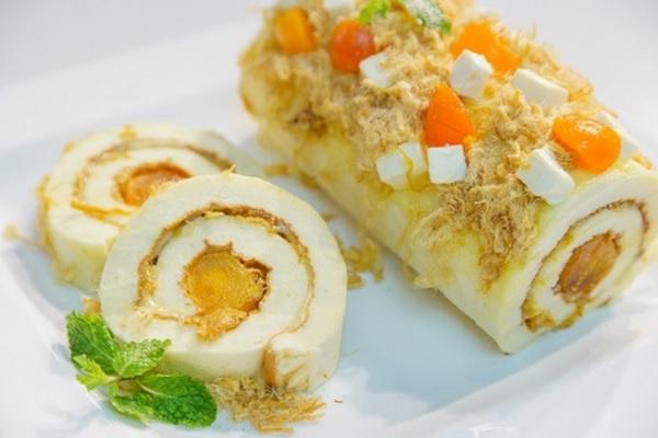 Cách làm bánh bông lan trứng muối ngon bất bại