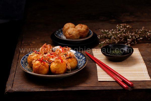 takoyaki hấp dẫn