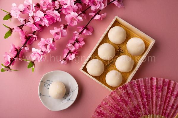 Bánh Mochi truyền thống Nhật Bản