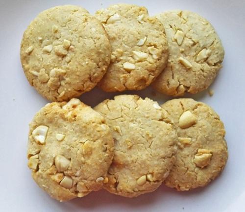 Bánh quy yến mạch dành cho người ăn kiêng