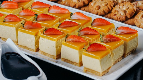 Cheesecake chanh dây