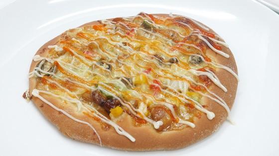 hinh banh pizza nhat vung Hiroshima