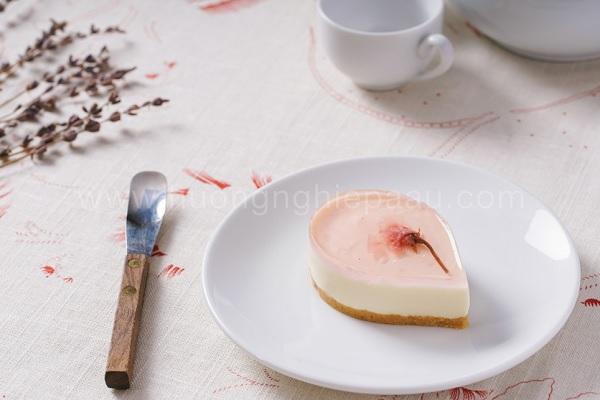 Hình Sakura Cheese Cake