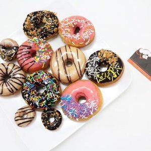 Học cách làm bánh donut đơn giản