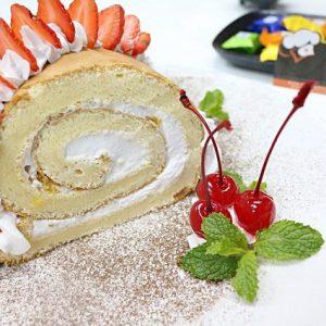 học làm bánh bông lan Roll Cake