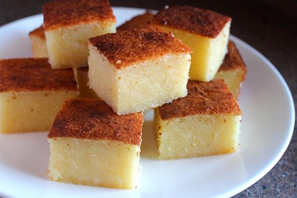 Nướng bánh chín để nguội