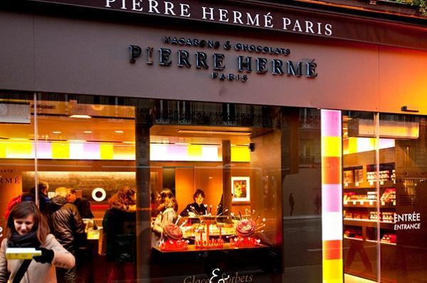 tiệm bánh Pierre Hermé Paris