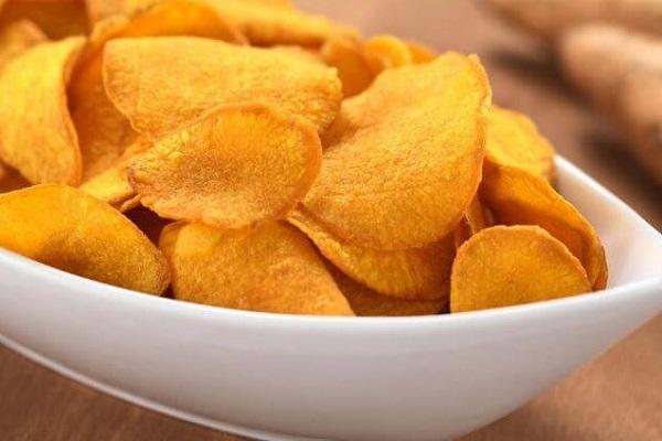 bánh snack khoai tây nóng hổi