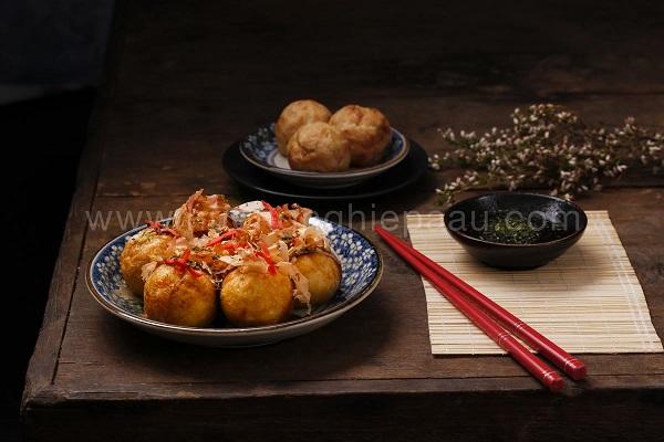 bánh Tokoyaki thơm ngon