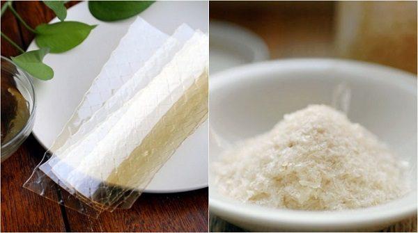 gelatin và agar làm kẹo