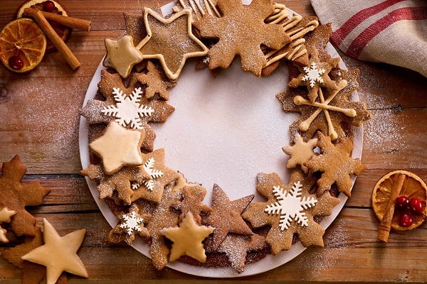 bánh quy gừng handmade