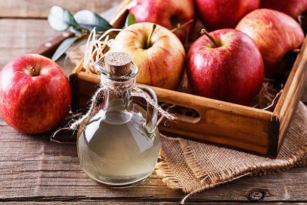 giấm táo lên men