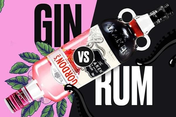 rượu Gin và Rum