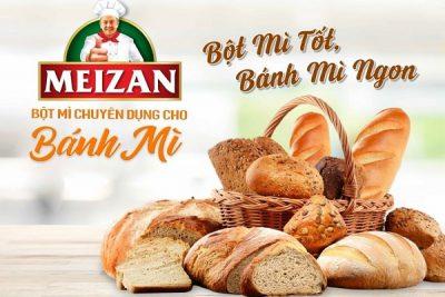 bột mì cho bánh mì
